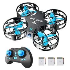 SNAPTAIN Mini Drohne mit 3 Akkus für 21 Minuten Flugzeit,