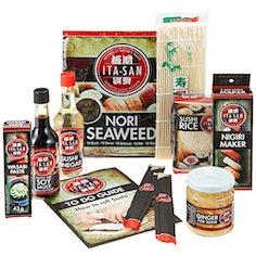 Sushi-Kit (9-teiliges Set) - ideales Geschenk für Sushi-Fans