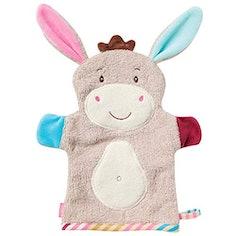 """""""Esel""""-Waschhandschuh / Waschlappen mit Tiermotiv für fröhlichen Badespaß"""