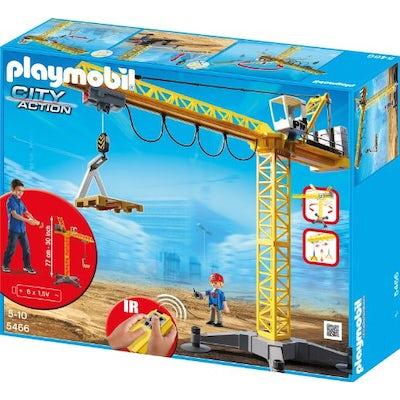 Playmobil - Großer Baukran mit Infrarot-Fernsteuerung