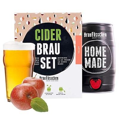 BrauFässchen | Cider-Brauset Apfel | Apfelwein zum selber machen