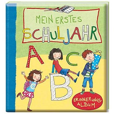 Erinnerungsalbum: Mein erstes Schuljahr