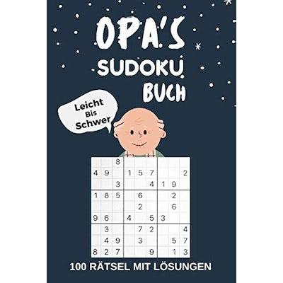 Opa's SUDOKU BUCH – Leicht bis Schwer