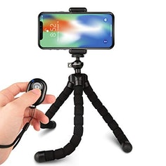 Rhodesy Oktopus Handy Stativ mit Bluetooth Fernbedienung