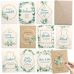 Meilensteinkarten von Verlobung bis zur Hochzeit – kreatives Geschenk für besondere Erinnerungen