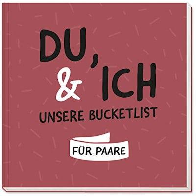 Du & Ich – Bucket List für Paare mit hochwertigem Hardcover
