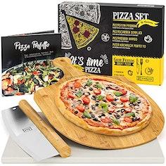 GARCON Pizzastein-Set (4-teilig)