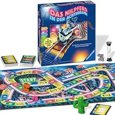 Das Nilpferd in der Achterbahn - Gesellschaftsspiel für die ganze Familie
