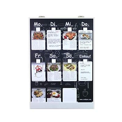 Familienkochplan - Speiseplan CookPins mit 200 Rezeptkarten