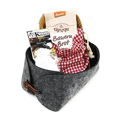 Geschenkkorb Brot und Salz - Einzug, Einweihung, Richtfest