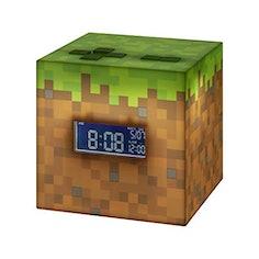 Paladone Minecraft Wecker mit offizieller Sonnenaufgangsmusik