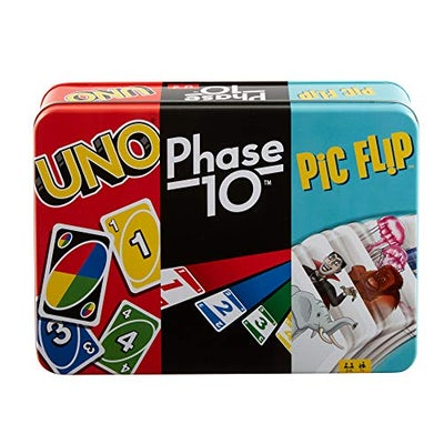 Die ultimative Kartenspiel-Sammlung - UNO, Phase 10 und Pic Flip