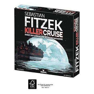 Sebastian Fitzek Killercruise - packendes Gesellschaftsspiel für Krimifans