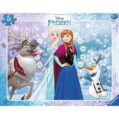Anna und Elsa Kinderpuzzle