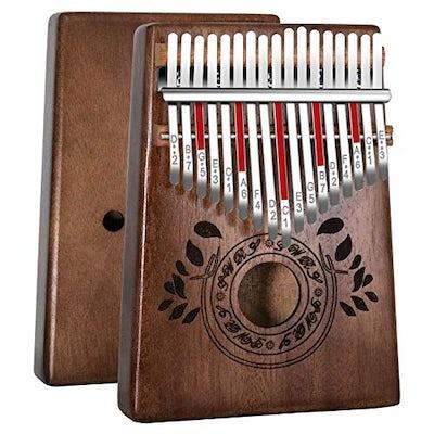 Hochwertiger Kalimba (Daumenklavier Musikinstrument aus Afrika)