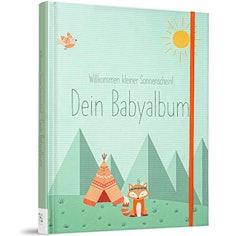 Babybuch zum Eintragen - Erinnerungsbuch für das erste Jahr