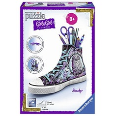 3D-Puzzle Girly Girl Edition Sneaker – Animal Trend