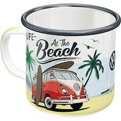 Retro VW Bulli Tasse für Camping und VW Bus Fans