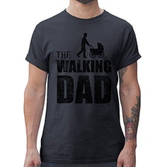 """""""The Walking Dad"""" Herren T-Shirt"""