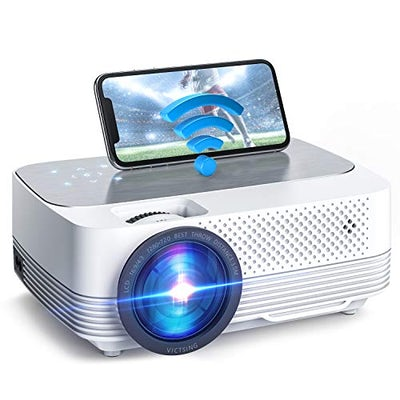 WiFi Mini Beamer Heimkino Projektor - direkt vom Handy streamen